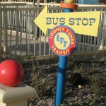 Directional - Warner Bros. Movie World (Cartoon Village)