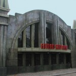 Gotham City Grill Main ID - Warner Bros. Movie World (Gotham)