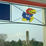 Directional detail - University of Kansas Memorial Stadium