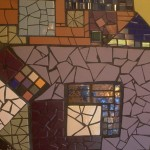 Mosaic detail - Ursa's Cafe